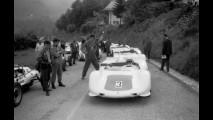 Lodovico Scarfiotti alla guida di una Porsche Typ 910_8 Bergspyder a Rossfeld nel 1968