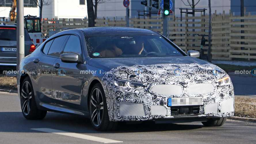 BMW 8 Series Gran Coupe previews updated styling in new spy photos