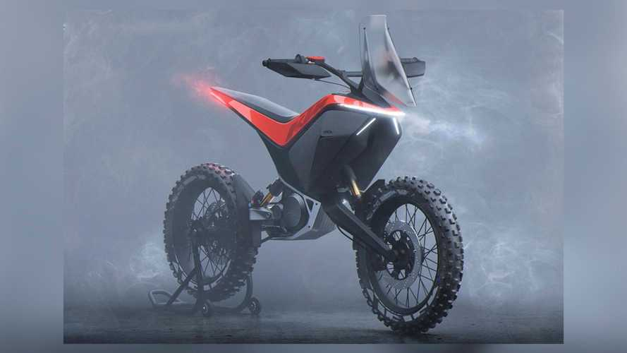 Design Student Imagines KTM EX-C Freeride With Swappable Battery