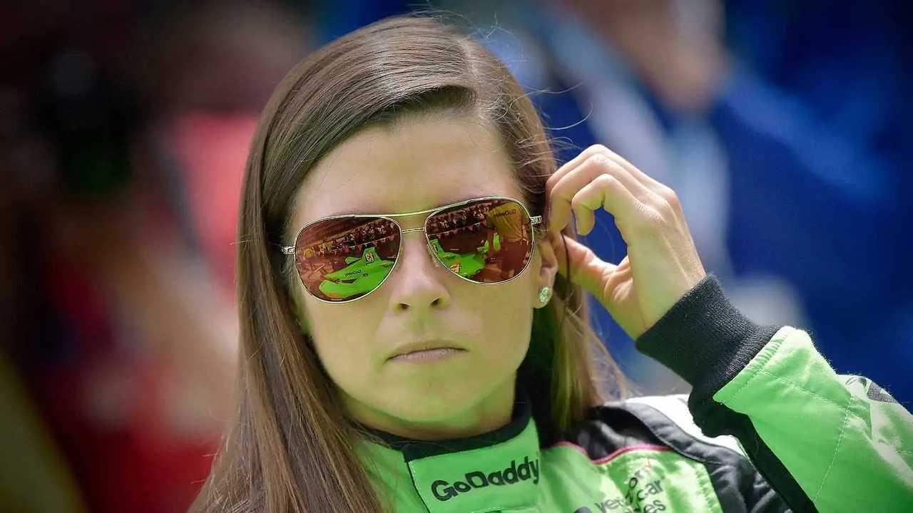 Danica Patrick at the 2018 Indianapolis 500.