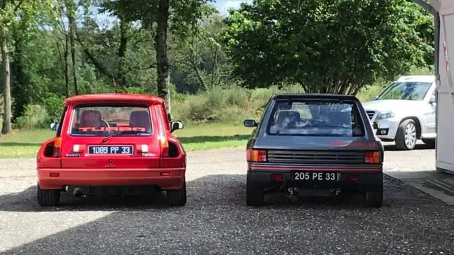 Une Peugeot 205 T16 et une Renault 5 Turbo dérobées en Gironde