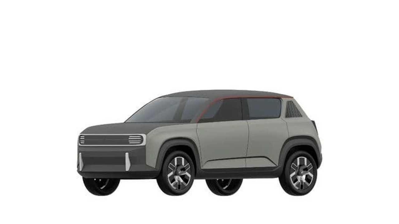 Imagenes del prototipo de patentes del nuevo Renault 4L