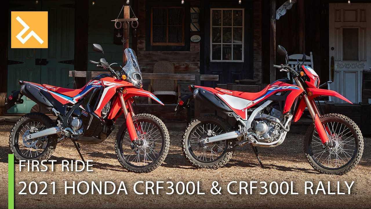 2021 Honda CRF300L & CRF300L Rally - Cover