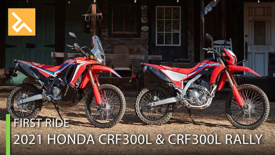 2021 Honda CRF300L And CRF300L Rally First Ride Review