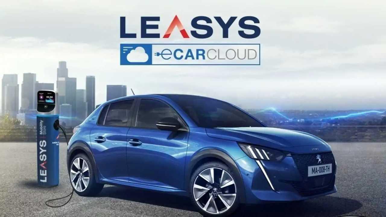 Leasys CarCloud Peugeot e-208