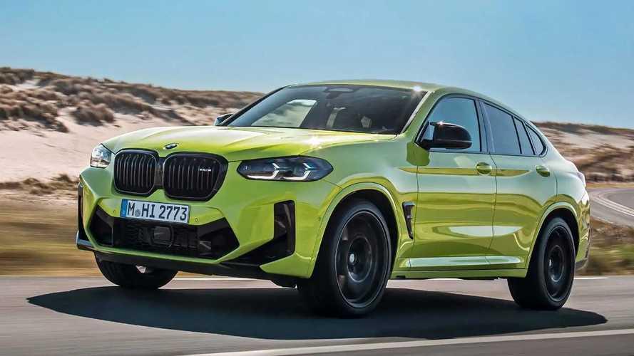BMW X3 M et X4 M Competition (2021) - Quelques maigres évolutions