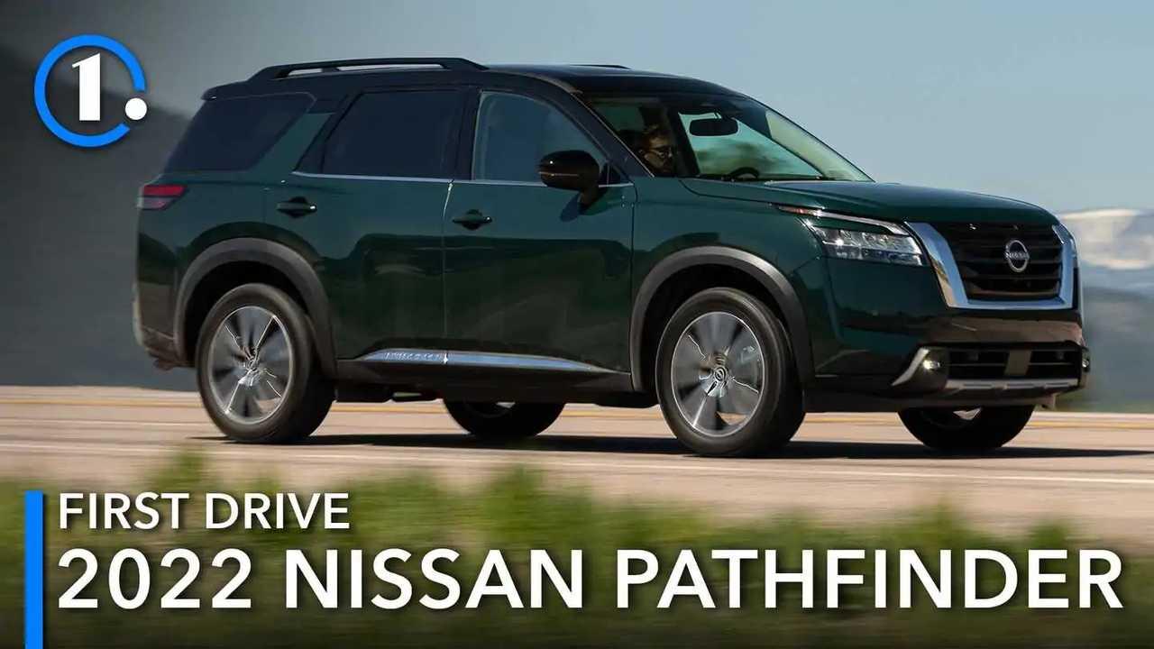 2022 Nissan Pathfinder First Drive