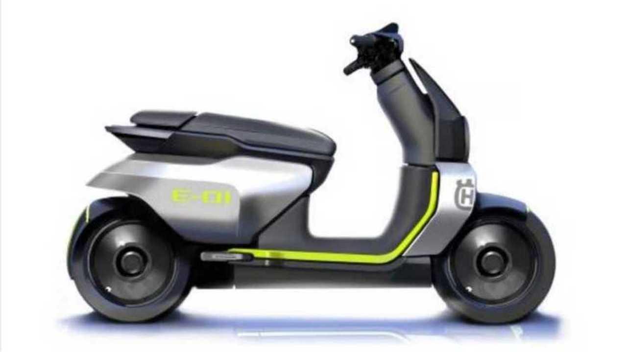 Husqvarna E-01 concept scooter elettrico