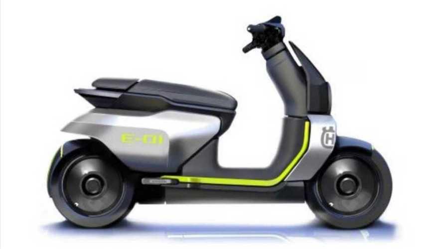 Husqvarna E-01, lo scooter elettrico rimandato al 2022