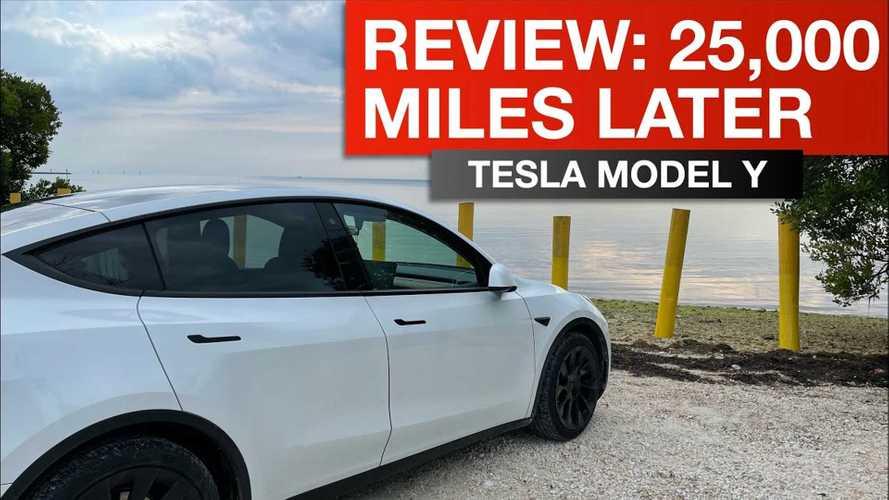 Tesla Model Y LR AWD Owner Shares Impressions After 25,000 Miles