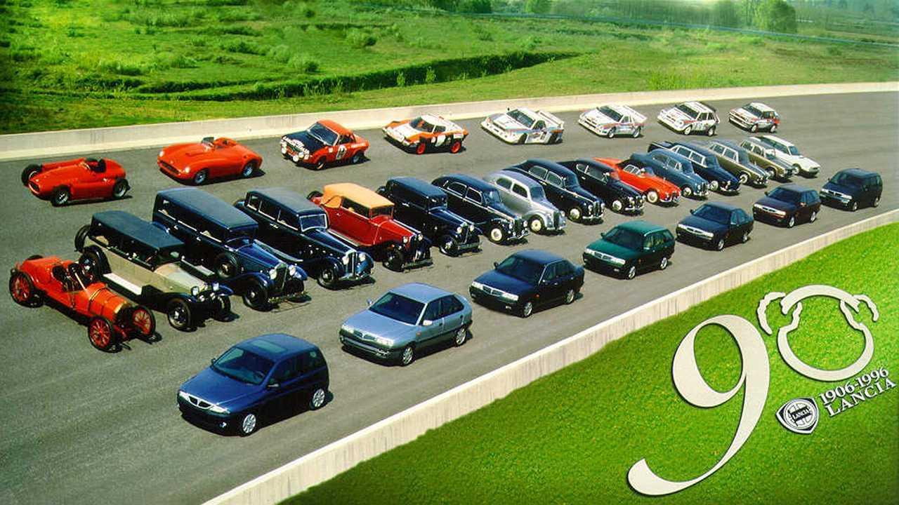 Los modelos más importantes de la historia de Lancia
