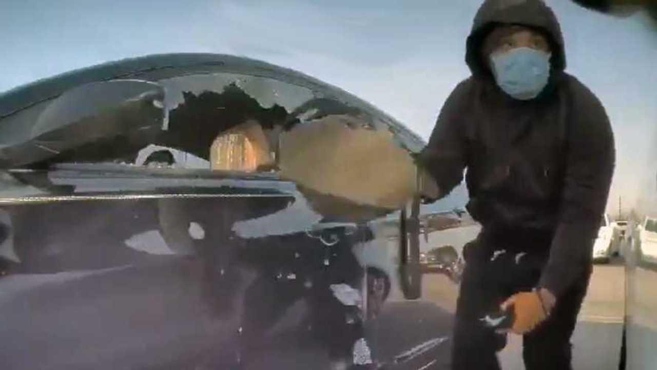 Burglar TeslaCam