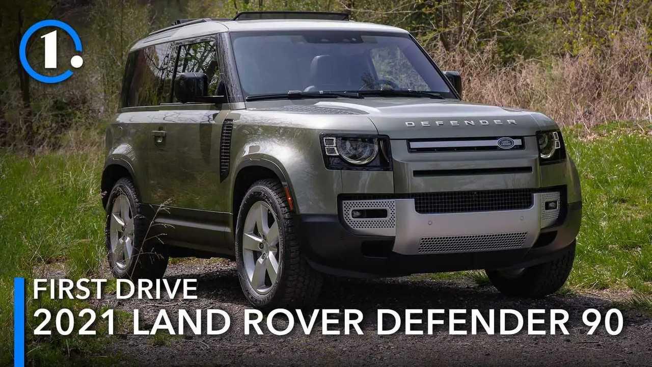 Land Rover Defender 90 2021.