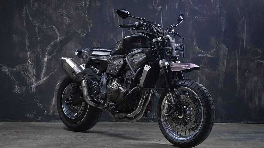 This Yamaha Yard Build XSR700 Is A Scramble For The Digital Age