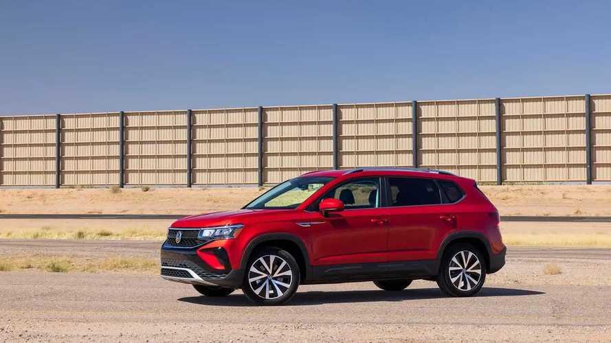 Volkswagen Taos 2022 - Teste de condução nos EUA