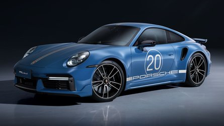 Porsche Marks 20 Years In China With 911 Turbo S Anniversary Edition