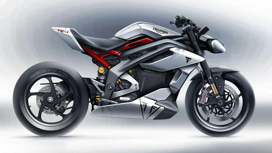 Triumph mostra prévia de moto elétrica e protótipo do trem de força