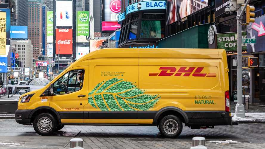 DHL Express To Deploy Nearly 100 Lightning eMotors Electric Vans