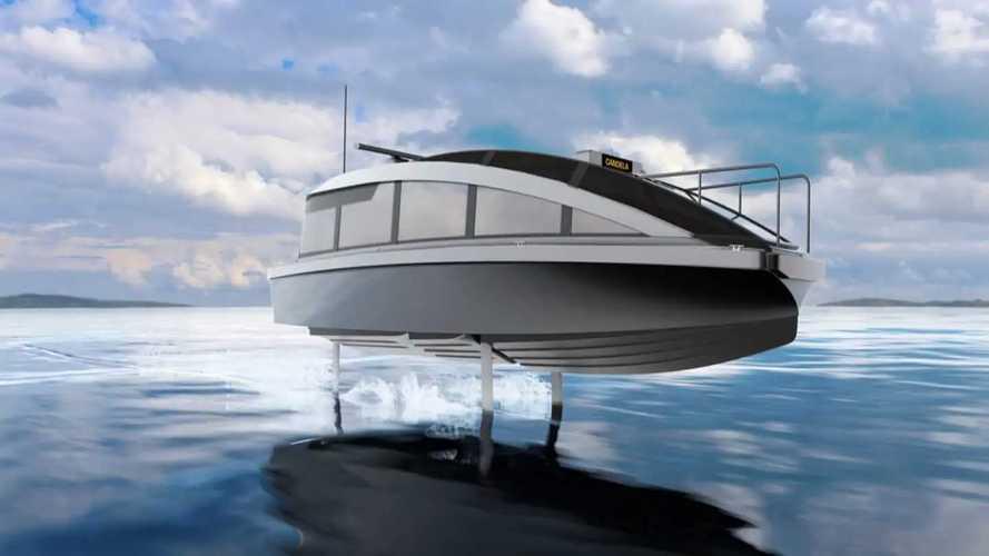 """Questa barca elettrica """"vola"""" e taglia i consumi dell'80%"""