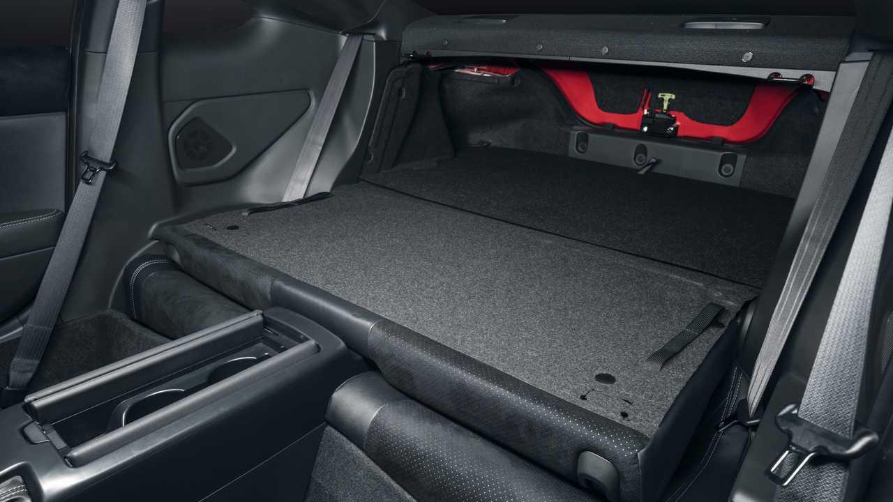 2022 Toyota GR 86 Asiento trasero plegable interior