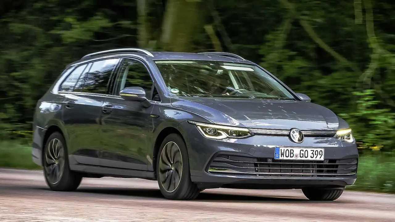 Der neue VW Golf Variant in Delfingrau Metallic