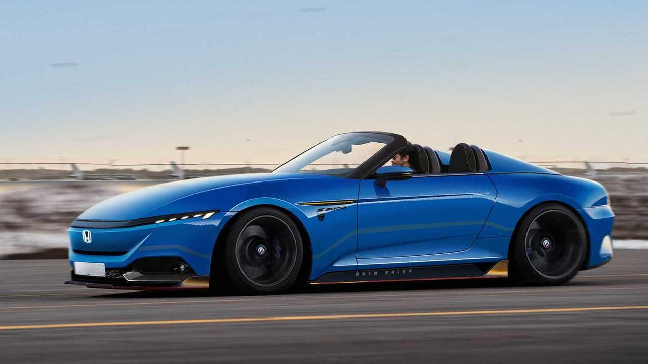 So könnte ein künftiger Honda S2000 mit reinem Elektroantrieb aussehen