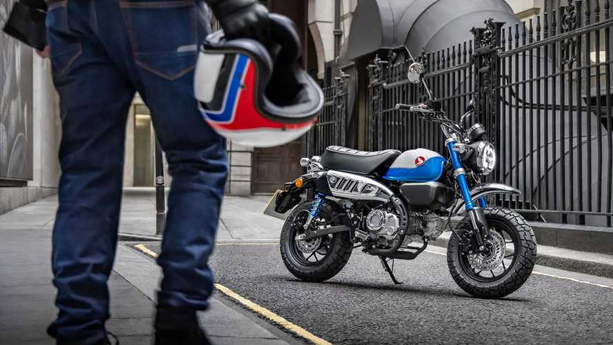 2022 Honda Monkey Launches In Europe: New Engine, Other Updates