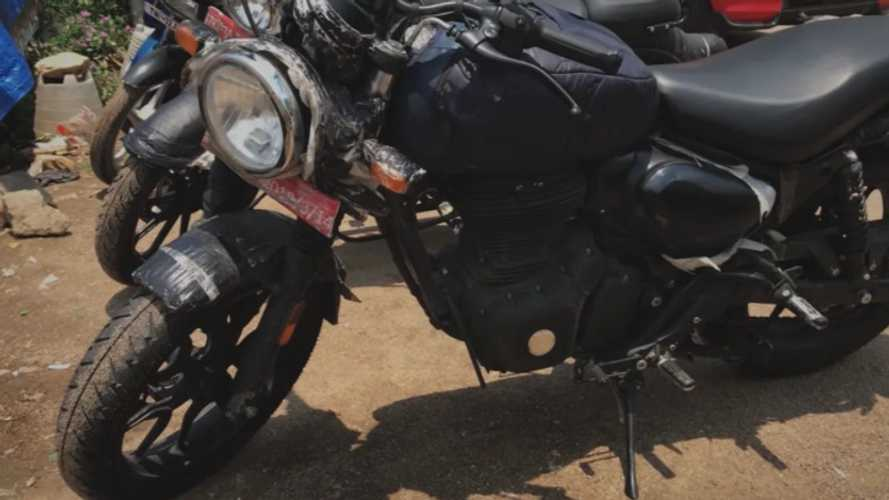 Royal Enfield Hunter Spotted Testing, Expected To Launch Soon
