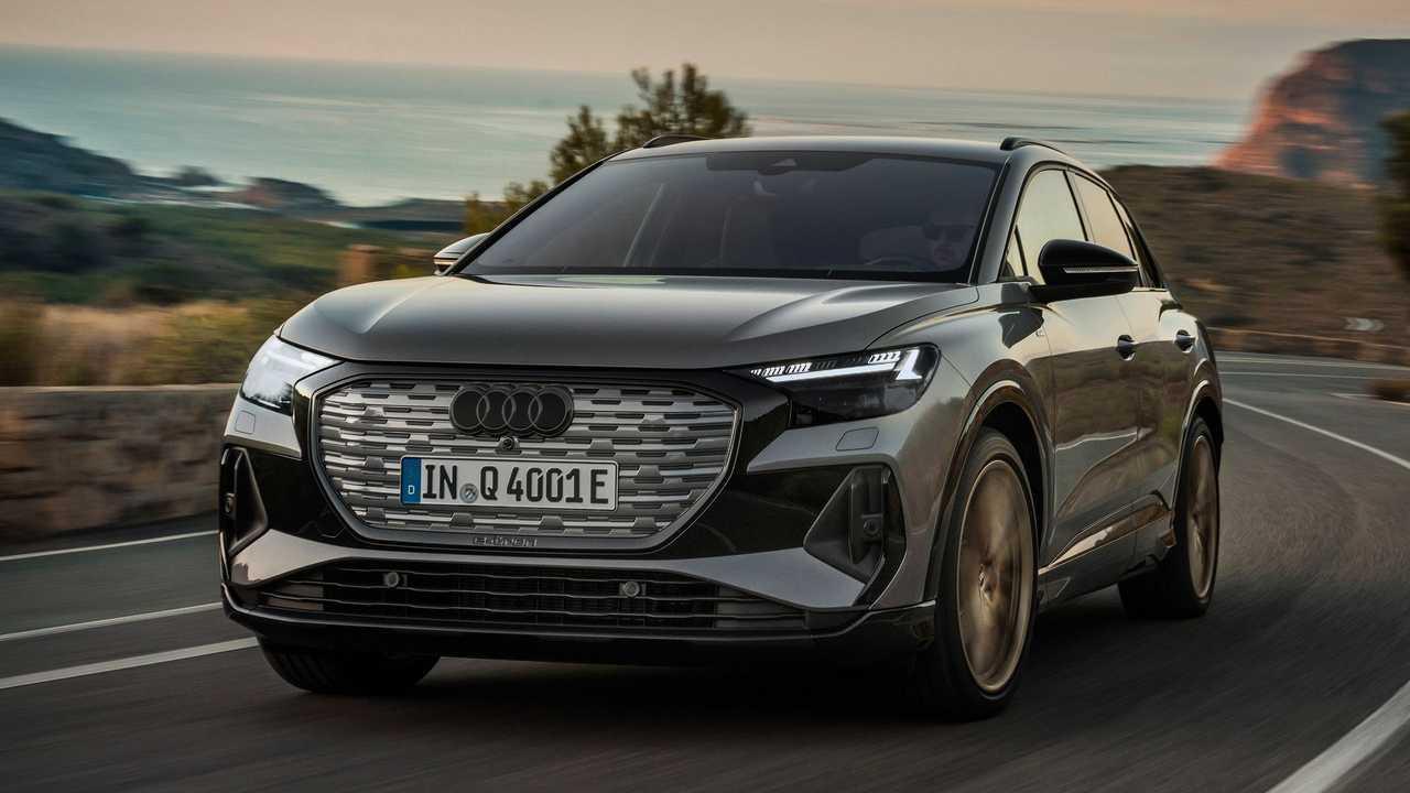 2022 Audi Q4 E-Tron Esterno