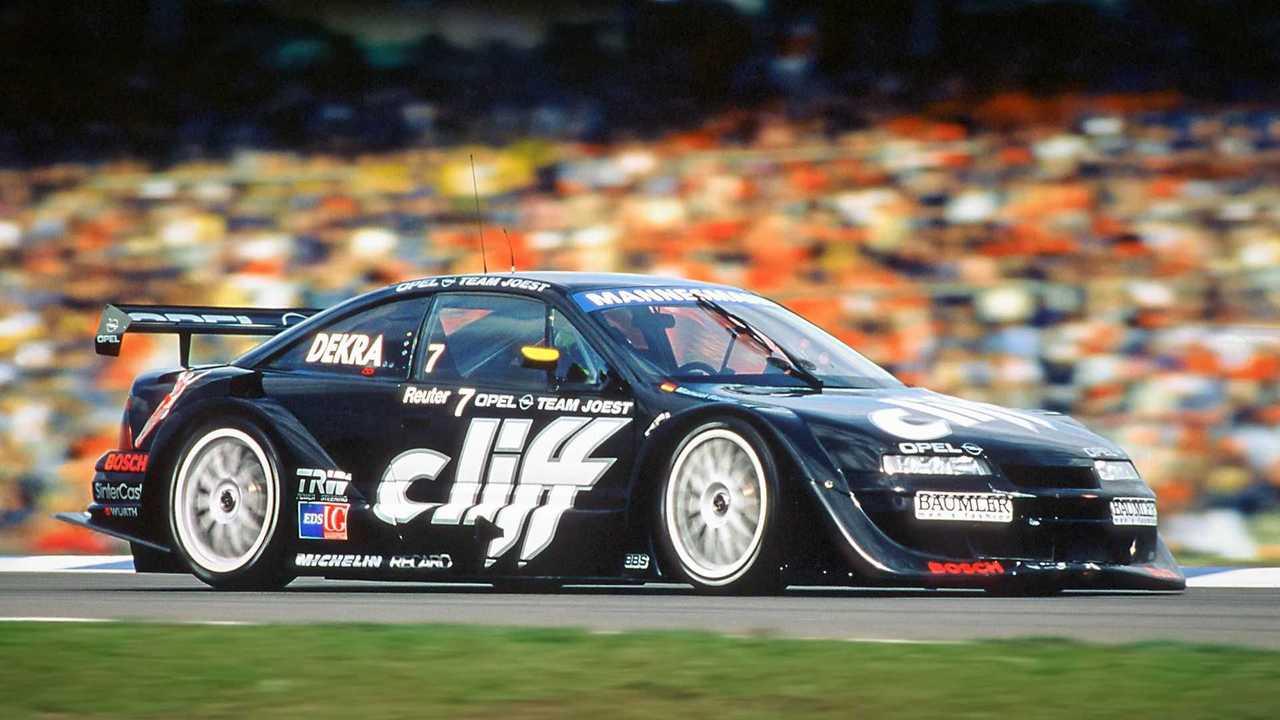 Opel Calibra, aniversario del mundial de turismos en 1996