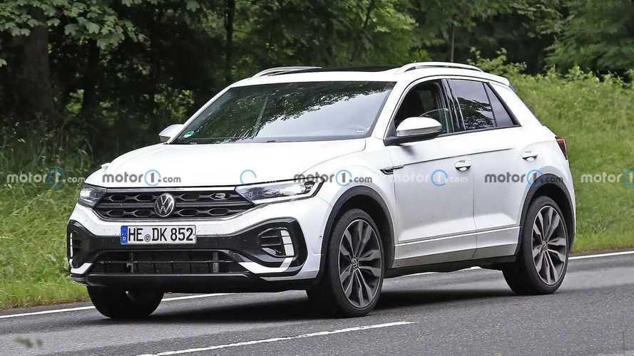 Volkswagen, makyajlı T-Roc ailesi için kamuflaja gerek duymamış!