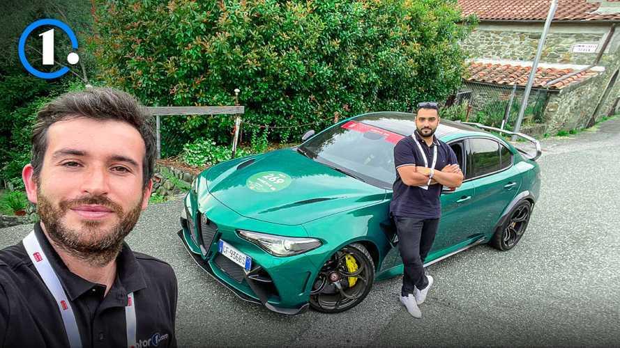Un italiano e un francese in un'Alfa Romeo da 540 CV