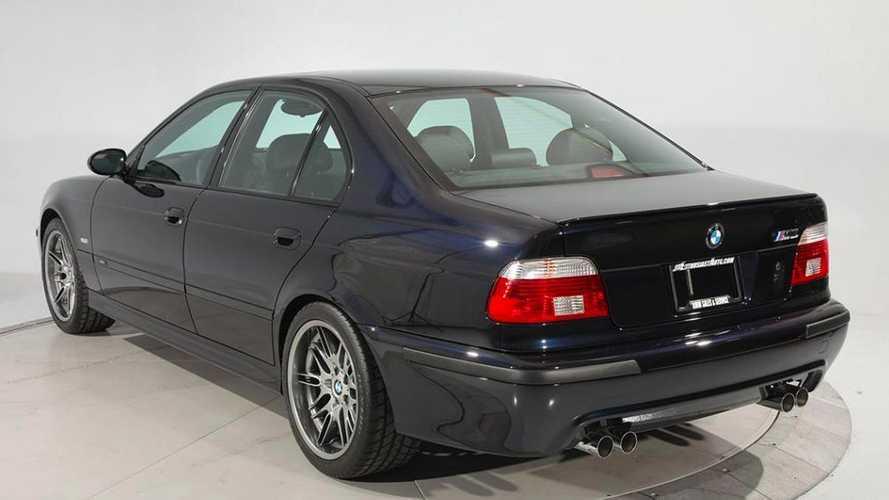 Une BMW M5 E39 de 2003 vendue 200'000 dollars aux États-Unis