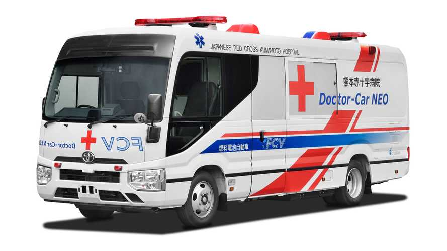 Toyota si prepara a testare la clinica mobile a idrogeno