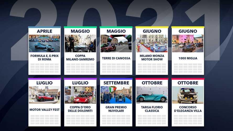 Tutti gli eventi auto del 2021, quando ci sono e dove si vedono