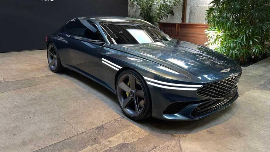У Genesis появилось эффектное купе класса Gran Turismo