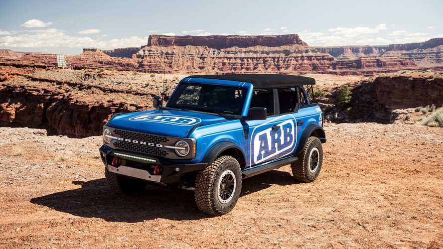 Ford Bronco accessories at Moab