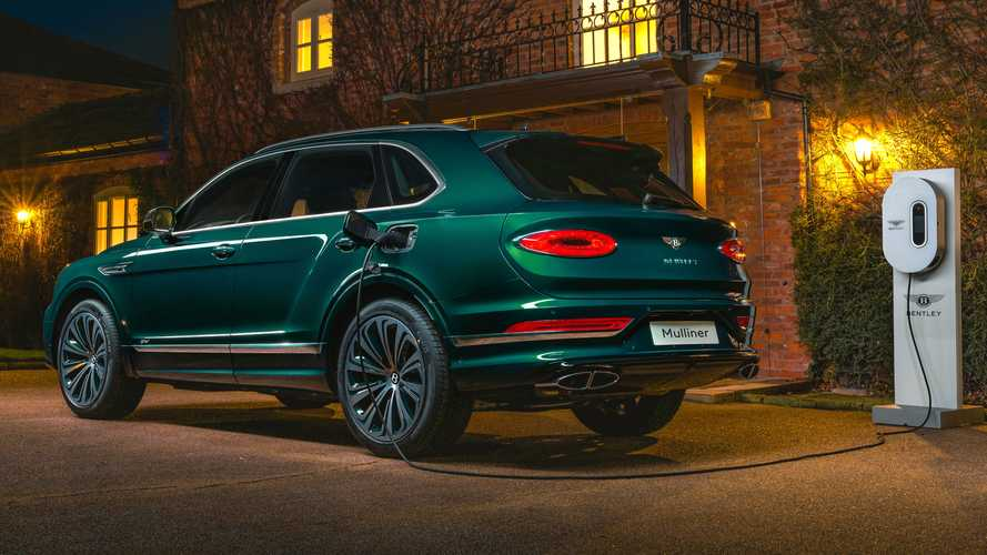 Grün. Sehr grün. Ein einzigartiger Bentley Bentayga Hybrid