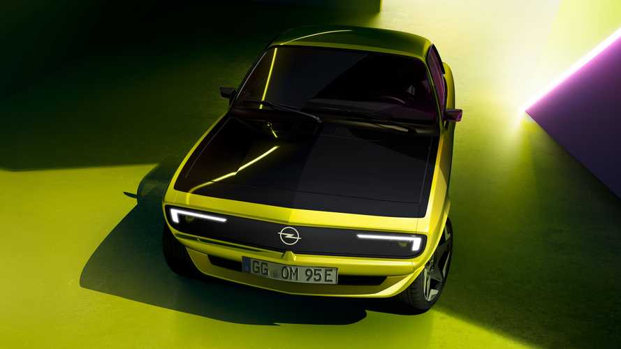 Opel Manta GSe ElektroMOD shows off its animated grille in new teaser