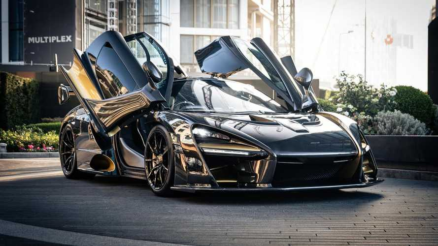 Full carbon fibre McLaren Senna looks brilliant