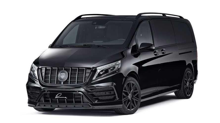 Lumma CLR V, una Mercedes-Benz Clase V como la del Equipo A