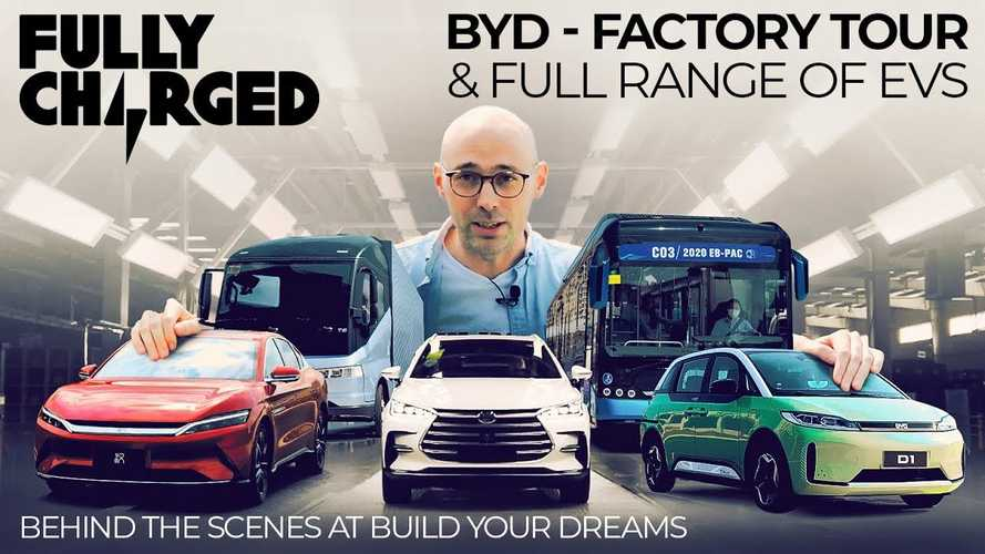 Let's Take An Amazing BYD Factory Tour With Fully Charged