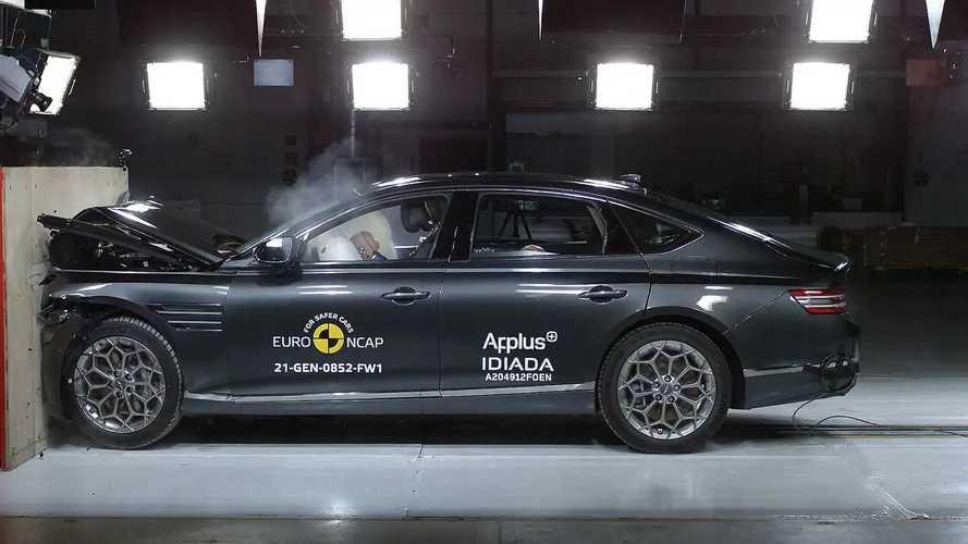 Genesis G80 Euro NCAP crash test