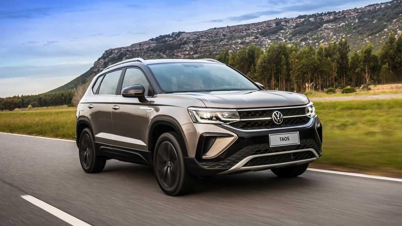 Volkswagen Taos Launching Edition 250TSI 2022
