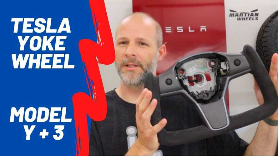 How About A Plaid Yoke For Your Tesla Model 3 Or Model Y?