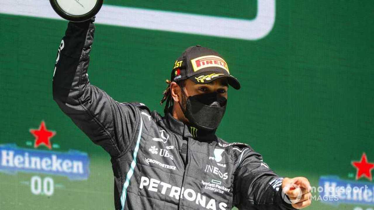 Lewis Hamilton at ortuguese GP 2021