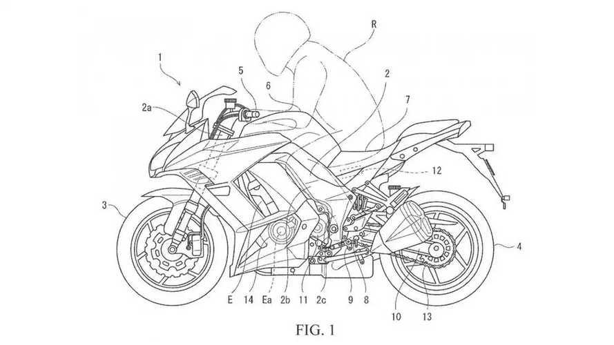 Kawasaki Automatic Gearbox Patent