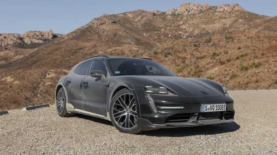 Porsche Taycan Cross Turismo Pre-Production Prototype