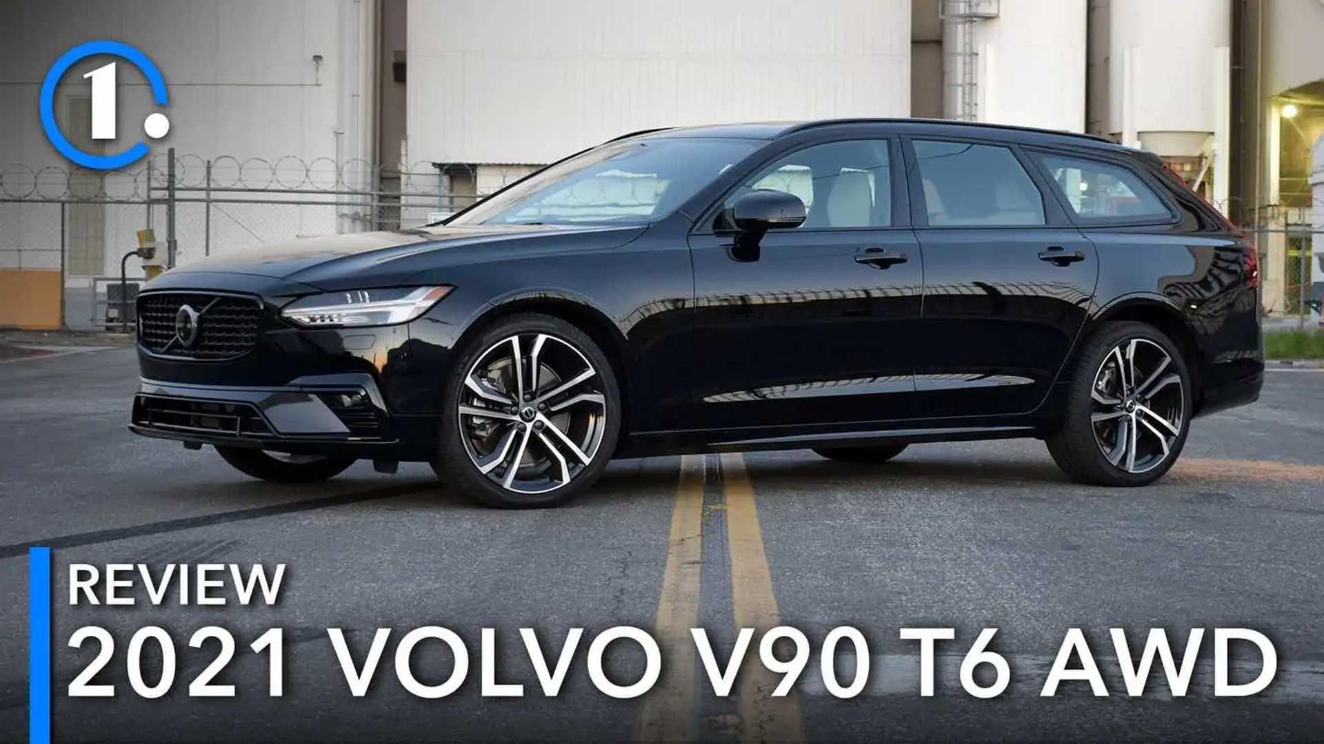 Обзор Volvo V90 T6 AWD R-Design 2021 года: единорог на каждый день