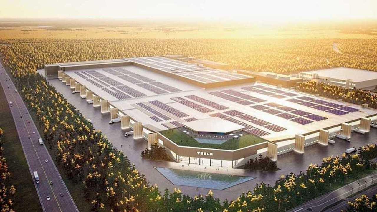 Tesla Gigafactory Berlin Hayali Tasarım (Render)